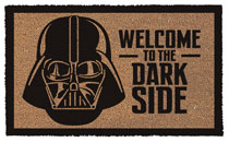 Image: Star Wars Doormat: Darth Vader - Welcome to the Dark Side  - Pyramid America