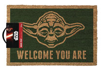 Image: Star Wars Doormat: Yoda - Welcome You Are  - Pyramid America