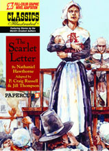 Image: Classics Illustrated Vol. 06: Scarlet Letter HC  - Papercutz