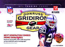Image: Donruss 2009 Gridiron Gear NFL Card Box  - Panini America Inc