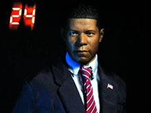 Image: 24 President David Palmer 1/6 Scale Figure  -
