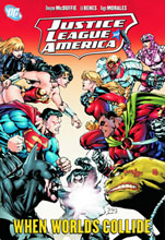 Image: Justice League of America: When Worlds Collide SC  - DC Comics