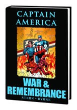 Image: Captain America: War & Remembrance HC  - Marvel Comics