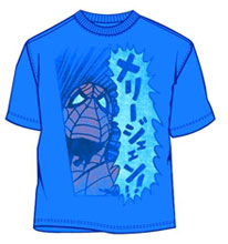 Image: Spider-Man: Mary Jane Skydiver Blue PX T-Shirt  (L) - Mad Engine