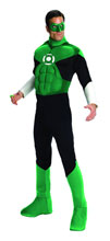 Image: Green Lantern Deluxe Muscle Chest Costume  (Large) -