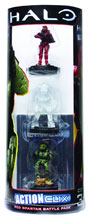 Image: Halo Actionclix: Red Spartan Battle Pack  - Wizkids/Neca