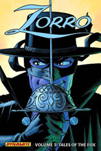 Image: Zorro Vol. 03: Tales of the Fox SC  - D. E./Dynamite Entertainment