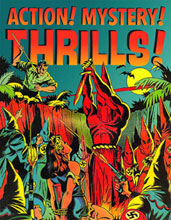 Image: Action! Mystery! Thrills!: Comic Book Covers of the Golden Age 1933-1945 SC  - Fantagraphics Books