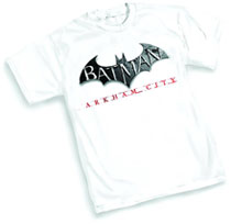 Image: Batman: Arkham City Logo T-Shirt  (M) - Graphitti Designs