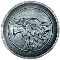 Image: Game of Thrones Pin: Stark Shield  - Dark Horse Comics