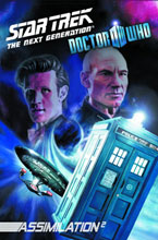 Image: Star Trek: The Next Generation / Doctor Who - Assimilation Vol. 01 SC  - IDW Publishing