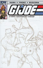 Image: G.I. Joe: A Real American Hero #182 (10-copy sketch incentive cover) (v10)