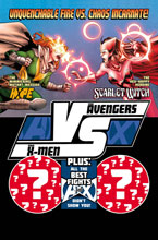 Image: AvX vs. #6 (Immonen Fight poster variant cover) - Marvel Comics