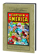 Image: Marvel Masterworks: Golden Age Captain America Vol. 06 HC  - Marvel Comics