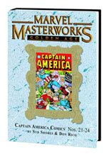 Image: Marvel Masterworks Vol. 189: Golden Age Captain America Nos. 21-24 HC  - Marvel Comics