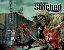Image: Stitched #8 (wraparound cover)
