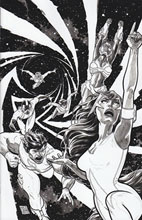 Image: Hypernaturals #3 (20-copy Green B&W variant - cover D) (v20)