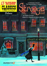 Image: Classics Illustrated Deluxe Graphic Novel Vol. 09: Scrooge HC  - Papercutz