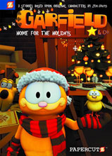 Image: Garfield & Company Vol. 07: Home for the Holidays HC  - Papercutz