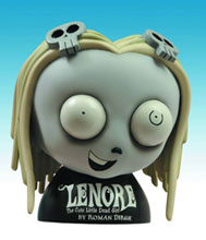 Image: Lenore 8-inch Bank  - Comic Book Heroes