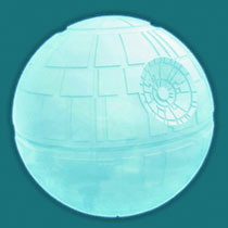 Image: Star Wars Death Star Silicone Ice Tray  - Kotobukiya Import Toys & Models