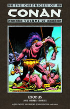 Image: Chronicles of Conan Vol. 25 Exodus and Other Stories SC  - Dark Horse Comics