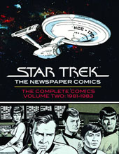 Image: Star Trek Newspaper Comics Vol. 02: 1981-1983 HC  - IDW Publishing