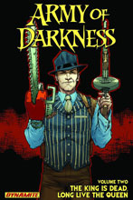 Image: Army of Darkness Vol. 02: The King Is Dead, Long Live the Queen SC  - Dynamite