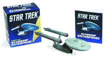 Image: Star Trek Light-Up Starship Enterprise Kit  - Running Press