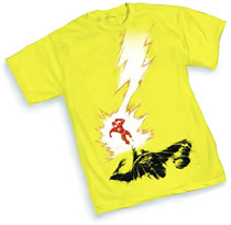 Image: Flash: Bolt by Manapul T-Shirt  (XL)