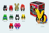 Image: Marvel Labbit Mini Series 2.5-Inch Blind Mystery Box Display  -