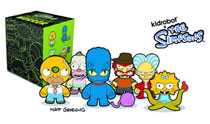 Image: Simpsons Treehouse of Horror Mini Figure 20-Piece Blind Mystery Box Display  -