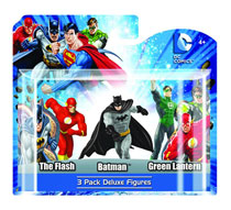 Image: DC Heroes 4 PVC Figure 3-Pack Set C  (6-Piece Case) -