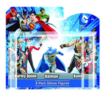 Image: DC Heroes 4 PVC Figure 3-Pack Set D  (6-Piece Case) -