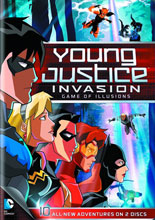 Image: Young Justice Season 2 Part 2: Game of Illusions DVD  -