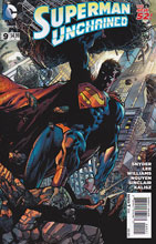 Image: Superman Unchained #9 (Finch wraparound variant cover - 00921) -