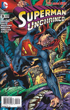 Image: Superman Unchained #9 (Hitch variant cover - 00931) -