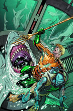 Image: Aquaman Vol. 05: Sea of Storms HC  (N52) - DC Comics