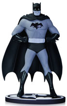 Image: Batman Black & White Statue: Batman by Dick Sprang  - DC Comics