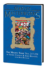 Image: Marvel Masterworks Vol. 213: Mighty Thor Nos. 217-228 HC  - Marvel Comics