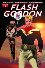 Image: Flash Gordon #6 (Haeser Li'l Flash subscription cover) - Dynamite