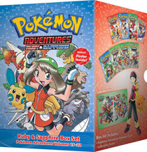 Image: Pokemon Adventures Box Set Vol. 03: Ruby Sapphire GN  - Perfect Square