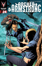 Image: Archer & Armstrong #24 (Henry cover) - Valiant Entertainment LLC