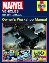 Image: Marvel Vehicles Owner's Workshop Manual HC  - Insight Editions