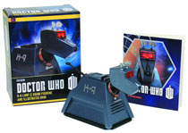 Image: Doctor Who K-9 Light & Sound Figurine & Illustrated Book Kit  - Running Press
