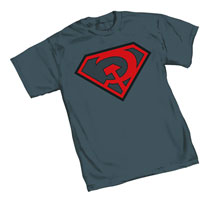 Image: Superman: Red Son Symbol T-Shirt  (S) -