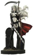 Image: Femme Fatales PVC Statue: Lady Death  (The Reckoning #1) (damaged box) -