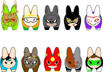Image: DC Universe Mini-Labbit 12-Piece Assortment  -
