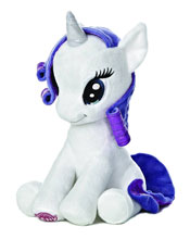 Image: Aurora My Little Pony Sitting Plush: Rarity  (10-inch) -