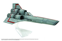 Image: Battlestar Galactica Assembled Model Kit: Classic Viper  -
